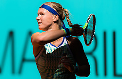 May 6, 2019 - Madrid, MADRID, SPAIN - Kiki Bertens of the Netherlands in action during her second-round match at the 2019 Mutua Madrid Open WTA Premier Mandatory tennis tournament (Credit Image: © AFP7 via ZUMA Wire)