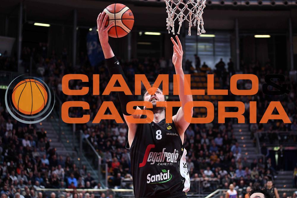 Filippo Baldi Rossi<br /> Virtus Segafredo Bologna - Red October Cantu<br /> LegaBasket Serie A 2017/2018<br /> Bologna, 07/04/2018<br /> Foto M.Ceretti / Ciamillo - Castoria