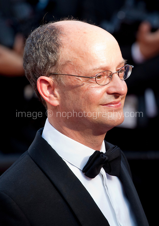 Producer Ed Guiney arriving to the Closing Ceremony and awards at the 70th Cannes Film Festival Sunday 28th May 2017, Cannes, France. Photo credit: Doreen Kennedy