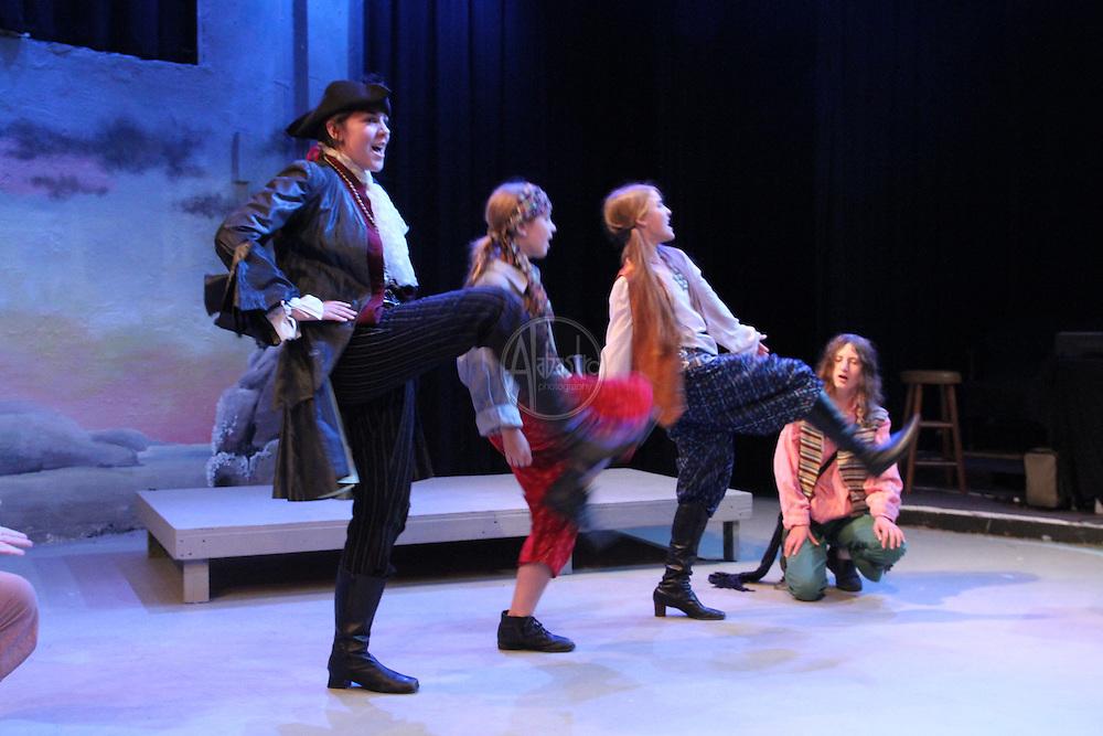 Seattle Public Theatre and Seattle Opera Pirates of Penzance opera camp.