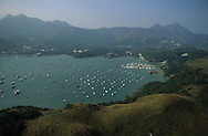Hong Kong. Tolo harbour area and islands   /  Les iles de Tola Harbour  /