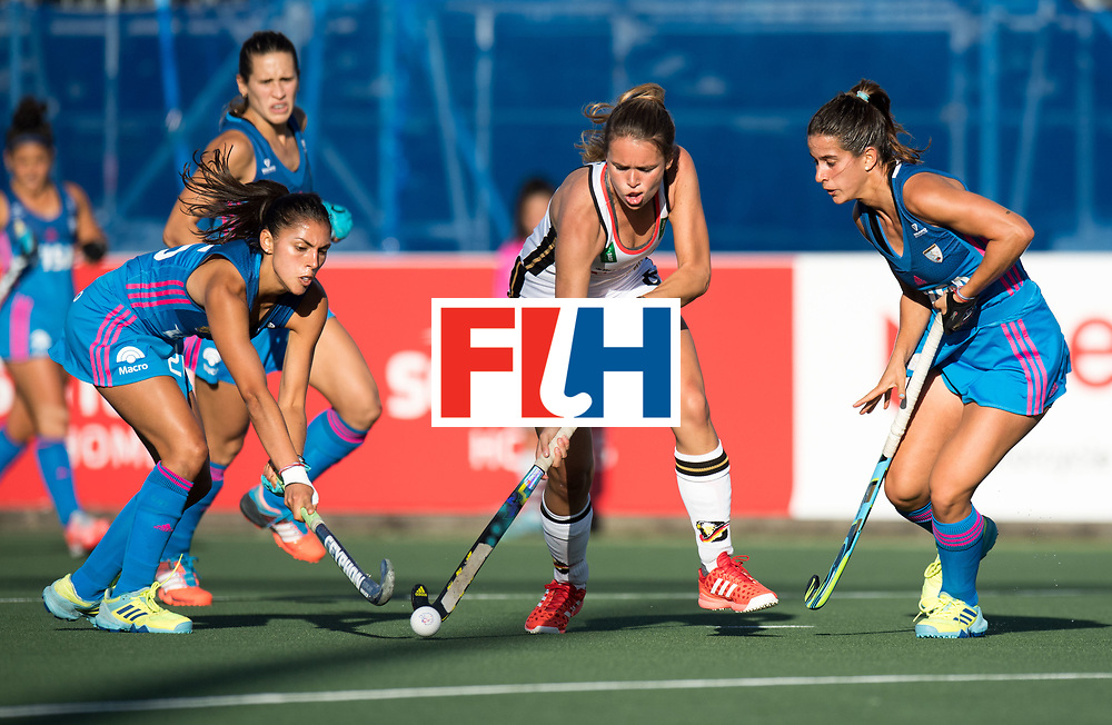 AUCKLAND - Sentinel Hockey World League final women<br /> Match id: 10301<br /> 11 GER v ARG (Pool B)<br /> Foto: Anne Schroder.<br /> WORLDSPORTPICS COPYRIGHT FRANK UIJLENBROEK