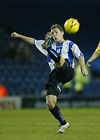 Photo: Aidan Ellis.<br /> Sheffield Wednesday v Cardiff City. Coca Cola Championship. 09/11/2005.<br /> Sheffield's Burton O'Brien