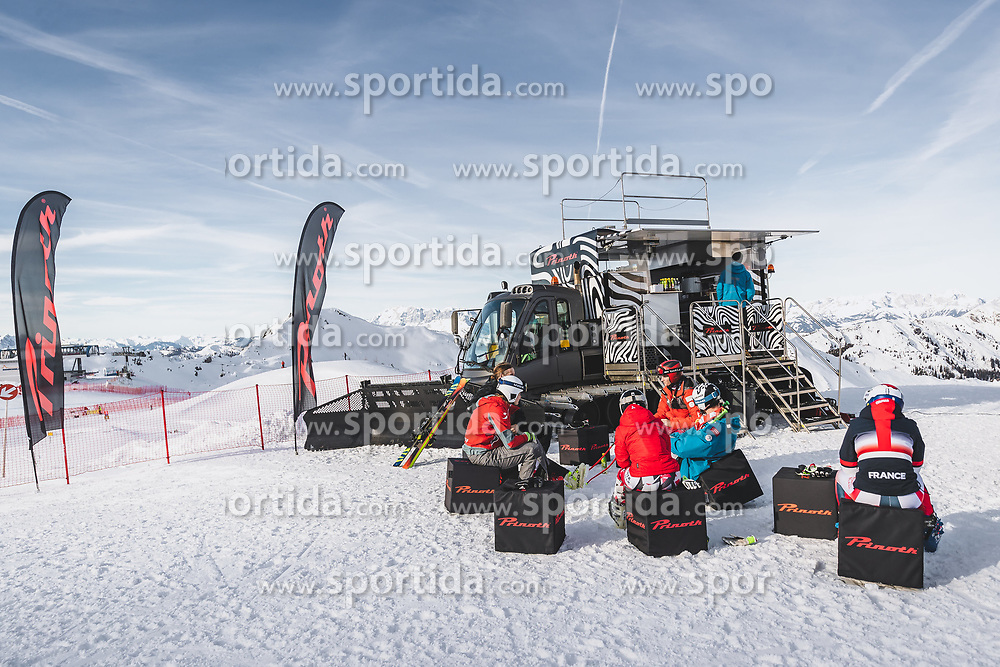 09.01.2020, Keelberloch Rennstrecke, Altenmark, AUT, FIS Weltcup Ski Alpin, Abfahrt, Damen, 1. Training, im Bild Prinoth // Prinoth during her 1st training run for the women's Downhill of FIS ski alpine world cup at the Keelberloch Rennstrecke in Altenmark, Austria on 2020/01/09. EXPA Pictures © 2020, PhotoCredit: EXPA/ Johann Groder