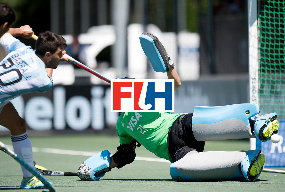 BREDA - Rabobank Hockey Champions Trophy<br /> 3rd/4th place The Netherlands - Argentina<br /> Photo: Tomas Santiago.<br /> COPYRIGHT WORLDSPORTPICS FRANK UIJLENBROEK