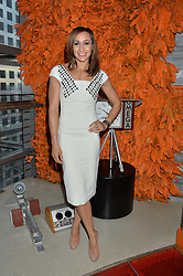 JESSICA ENNIS-HILL at the OMEGA 100 days to Rio Olympics VIP Dinner at Sushi Samba, Heron Tower, 110 Bishopsgate, City of London on 27th April 2016.