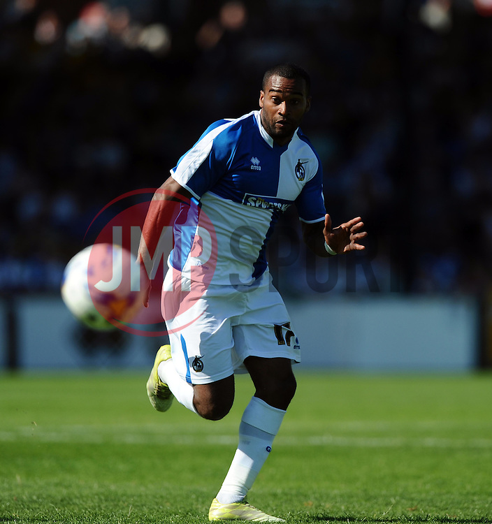 Jermaine Easter of Bristol Rovers  - Mandatory byline: Joe Meredith/JMP - 07966386802 - 08/08/2015 - FOOTBALL - Memorial Stadium -Bristol,England - Bristol Rovers v Northampton Town - Sky Bet League Two