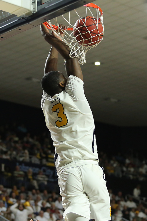 January 11, 2018 - Johnson City, Tennessee - Freedom Hall: ETSU guard Bo Hodges (3)<br /> <br /> Image Credit: Dakota Hamilton/ETSU