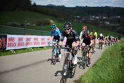 Lisa Brennauer (GER) at Amstel Gold Race - Ladies Edition 2018, a 116.9 km road race from Maastricht to Berg en Terblijt on April 15, 2018. Photo by Sean Robinson/Velofocus.com