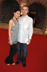 VANESSA MAE and LIONEL CATALAN at the Royal Academy of Art Summer Exhibition Preview Party on 4th June 2008.<br />