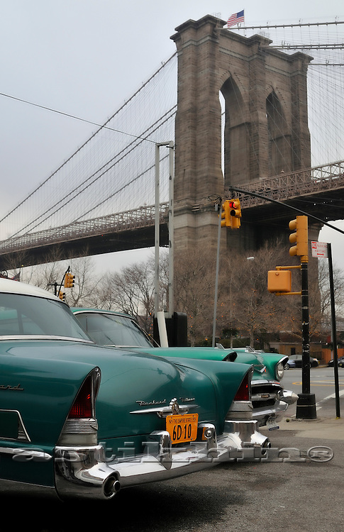 Packard, Chevrolet and Brooklyn Bridge