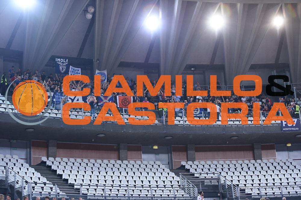 Tifosi Bologna<br /> Virtus Roma - Fortitudo Pompea Bologna<br /> Lega Basket Serie A 2019/2020<br /> Roma, 20/10/2019<br /> Foto Gennaro Masi / Ciamillo-Castoria