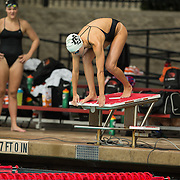 15 October 2015 - The San Diego State Aztecs Women's Swim & Dive Team took on Oregon State and Vanderbilt at the Aztec Aquaplex. 1000 yard Freestyle