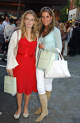 LADY SYBILLA HART and CATHERINE LANGDON at a party to celebrate the re-launh of Penhaligon's at 132 Kings Road, London SW3 on 7th June 2006.<br /><br />NON EXCLUSIVE - WORLD RIGHTS