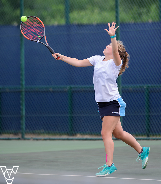 Team Tennis Schools National Championships Finals 2017 held at Nottingham Tennis Centre.  Pocklington School<br /> <br /> Picture: Chris Vaughan Photography for the LTA<br /> Date: July 12, 2017