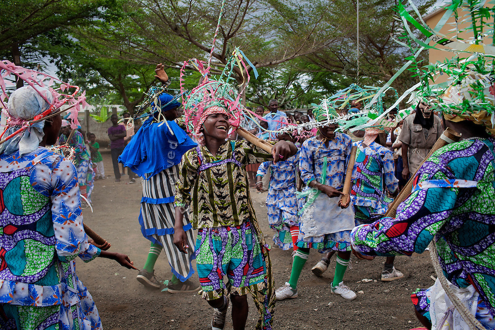 A local festival called 'Tragedy' is taking place in the village of Santo Amaro on the island of Sao Tome, Sao Tome and Principe, (STP) a former Portuguese colony in the Gulf of Guinea, West Africa.