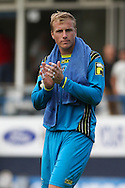 Picture by David Horn/Focus Images Ltd +44 7545 970036<br /> 03/08/2013<br /> Elliot Justham of Luton Town during the Friendly match at Kenilworth Road, Luton.