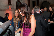 TAMARA ECCLESTONE,  THE FABERGÉ BIG EGG HUNT AUCTION in aid of Action for Children. Royal Courts of Justice. London. 20 March 2012.