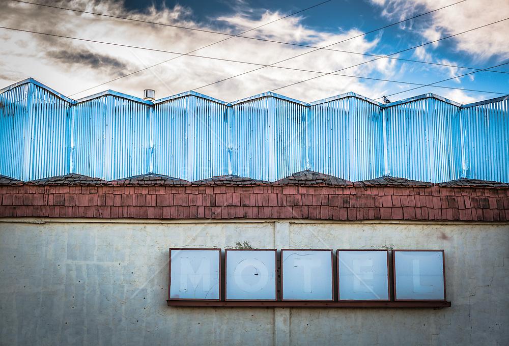 abandoned motel in Las Vegas, NM