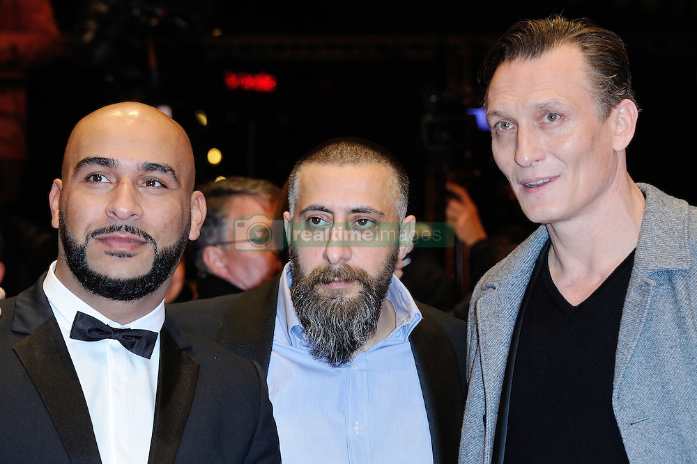 Actors Veysel, Kida Khodr Ramadan and Oliver Masucci attending the closing ceremony for the 67th Berlin International Film Festival (Berlinale) in Berlin, Germany on Februay 18, 2017. Photo by Aurore Marechal/ABACAPRESS.COM