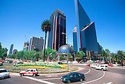 MEXICO, MEXICO CITY Centro Bursatil; Stock Market, Reforma