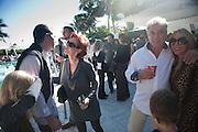 CRICKET TAPLIN OWNER OF THE HOTEL; tom leibe; jennifer sazant, , Sagamore Hotel Art Basel brunch.   Miami Beach. 4 December 2010. -DO NOT ARCHIVE-© Copyright Photograph by Dafydd Jones. 248 Clapham Rd. London SW9 0PZ. Tel 0207 820 0771. www.dafjones.com.