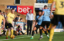 Southend United manager Kevin Bond watches on - Mandatory by-line: Arron Gent/JMP - 24/07/2019 - FOOTBALL - Roots Hall - Southend-on-Sea, England - Southend United v Millwall - pre season friendly