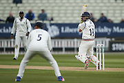 Yorkshire Gary Ballance  during the Specsavers County Champ Div 1 match between Warwickshire County Cricket Club and Yorkshire County Cricket Club at Edgbaston, Birmingham, United Kingdom on 24 April 2016. Photo by Simon Davies.