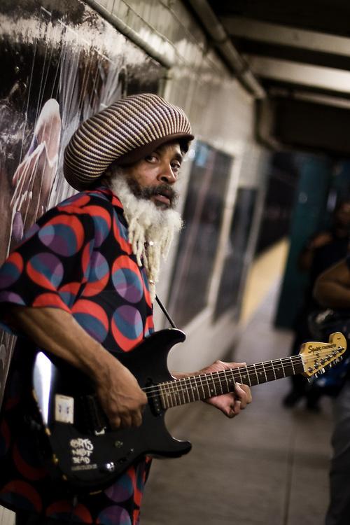Subway Musician, NY, 2008
