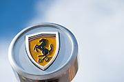 July 21-24, 2016 - Hungarian GP, Ferrari logo detail