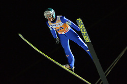 21.11.2014, Vogtland Arena, Klingenthal, GER, FIS Weltcup Ski Sprung, Klingenthal, Herren, HS 140, Qualifikation, im Bild Michael Hayboeck (AUT) // during the mens HS 140 qualification of FIS Ski jumping World Cup at the Vogtland Arena in Klingenthal, Germany on 2014/11/21. EXPA Pictures © 2014, PhotoCredit: EXPA/ Eibner-Pressefoto/ Harzer<br /> <br /> *****ATTENTION - OUT of GER*****