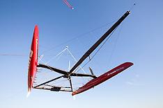 Artemis Racing's Red Boat November 2012