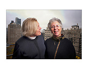 Caroline Simon, left, and Lynne Berman the two women who started the Philadelphia School, a private Center City school, 40 years ago, at Simons Philadelphia home. (Ed Hille / Staff Photographer) rrxschool19 119668 November 15, 2010 Editors Note: