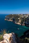 Cap Negre Cliffs, Javea, Alicante province,Costa Blanca, spain