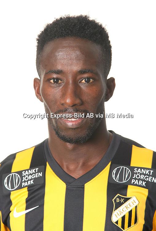 Demba Savage<br /> Halvfigur<br /> @Leverans<br /> Allsvenskan 2016<br /> Fotboll