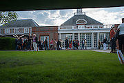 View from Serpentine Gallery Pavilion 2012 Designed by Herzog & de Meuron and Ai Weiwei . Yoko Ono.- to the Light. Serpentine Gallery. London. 19 June 2012.