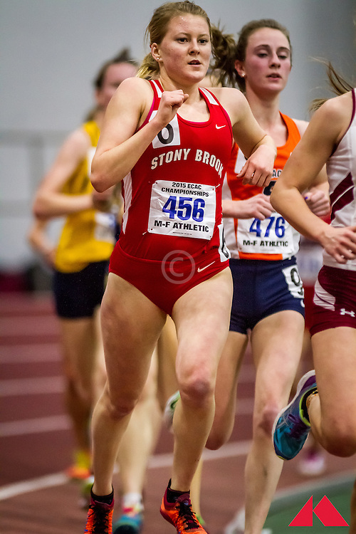 ECAC Indoor Champs, womens 5000, Caldwell, Elizabeth       SO Stony Brook