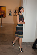 CAROLINE ISSA, Opening of Bailey's Stardust - Exhibition - National Portrait Gallery London. 3 February 2014