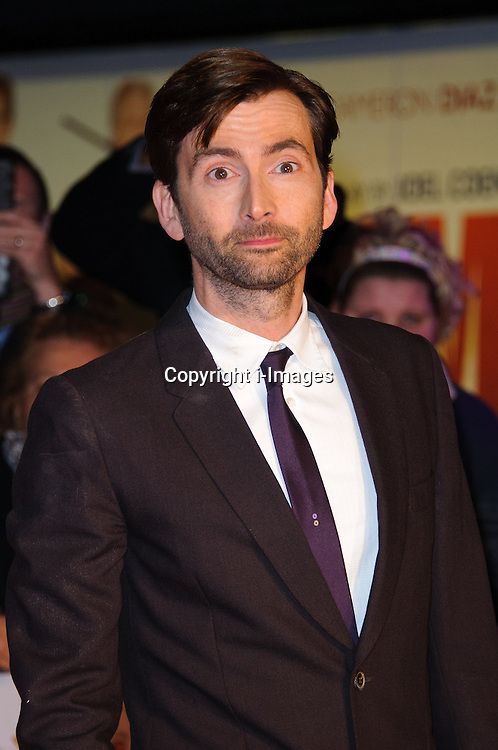 David Tennant at the Nativity 2 premiere in London,  Tuesday, 14th November 2012  Photo by: Chris Joseph / i-Images