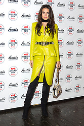 © Licensed to London News Pictures. 17/02/2016. DOINA CIOBANU arrives at the NME Awards 2016 with Austin, Texas.  Previous winners of NME's Godlike Genius Award include Suede, Blondie, The Clash, Paul Weller, The Cure, Manic Street Preachers, New Order & Joy Division, Dave Grohl, Noel Gallagher and Johnny Marr.  London, UK. Photo credit: Ray Tang/LNP<br /> <br /> Doina Ciobanu
