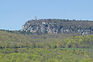 Gardiner, New York - A view of Skytop Tower on Paltz Point at the Mohonk Preserve on May 4, 2013.