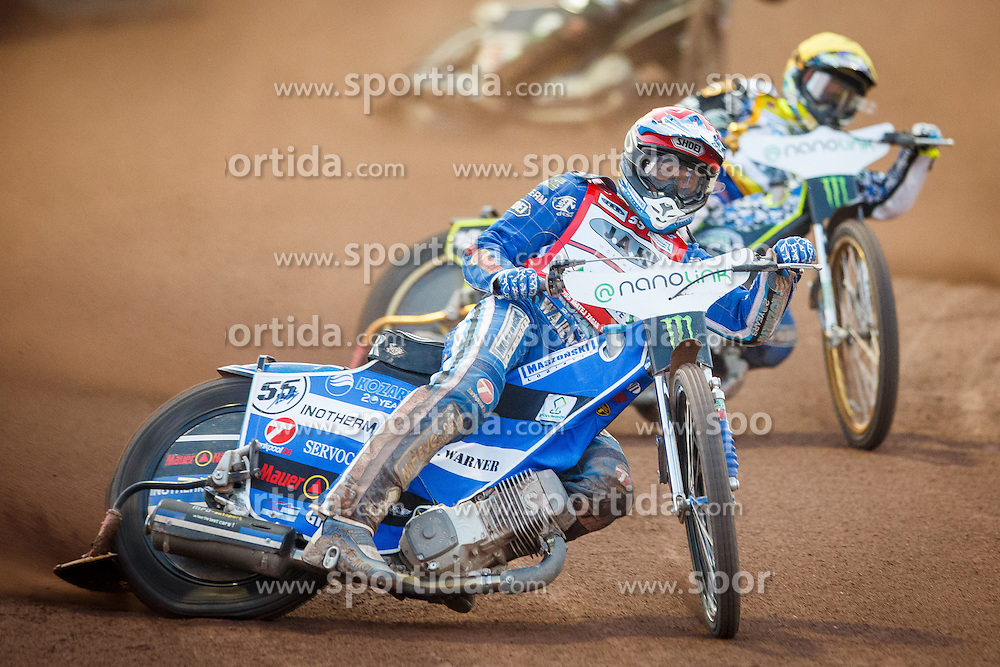 MATEJ ZAGAR of Slovenia during FIM Speedway Grand Prix World Cup, Krsko, on 30. April, 2016, in Sports park Krsko, Slovenia. Photo by Grega Valancic / Sportida