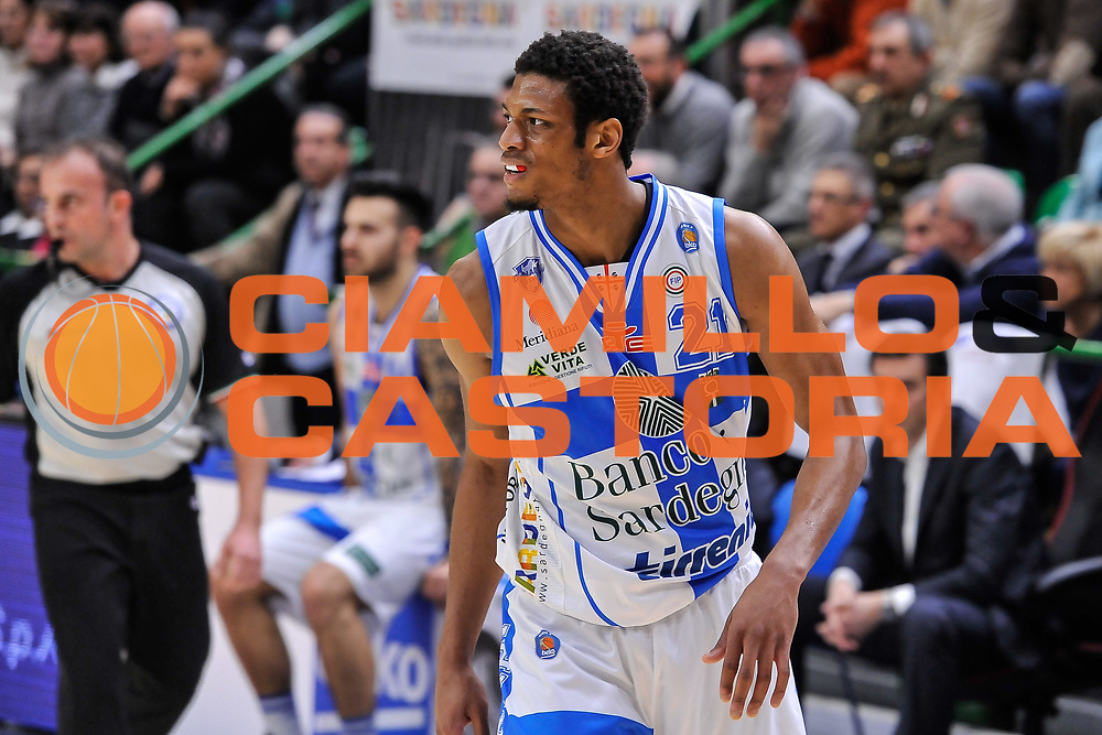DESCRIZIONE : Campionato 2014/15 Serie A Beko Dinamo Banco di Sardegna Sassari - Acqua Vitasnella Cantu'<br /> GIOCATORE : Jeff Brooks<br /> CATEGORIA : Ritratto<br /> SQUADRA : Dinamo Banco di Sardegna Sassari<br /> EVENTO : LegaBasket Serie A Beko 2014/2015<br /> GARA : Dinamo Banco di Sardegna Sassari - Acqua Vitasnella Cantu'<br /> DATA : 28/02/2015<br /> SPORT : Pallacanestro <br /> AUTORE : Agenzia Ciamillo-Castoria/L.Canu<br /> Galleria : LegaBasket Serie A Beko 2014/2015