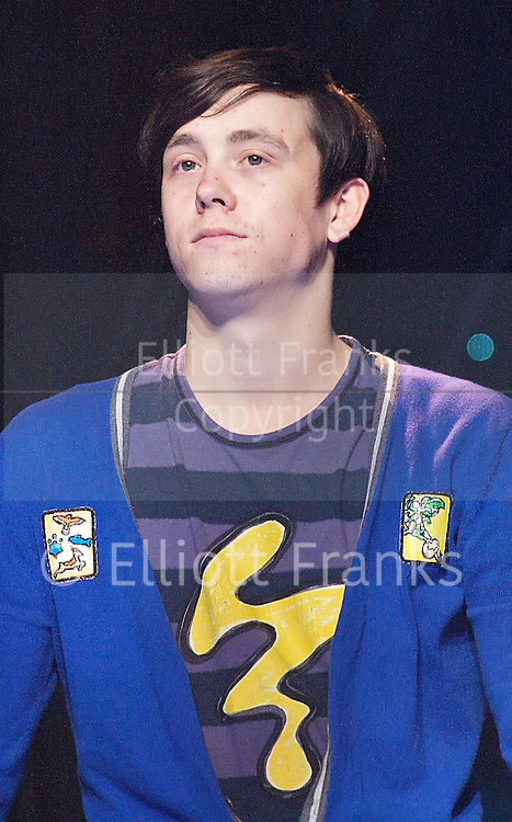 Loserville<br /> by Elliot Davis and James Bourne<br /> at The Garrick Theatre, London, Great Britain <br /> press photocall <br /> 11th October 2012 <br /> <br /> Lil' Chris<br /> <br /> Photograph by Elliott Franks<br /> <br /> Tel 07802 537 220 <br /> elliott@elliottfranks.com<br /> <br /> 2012&copy;Elliott Franks<br /> Agency space rates apply