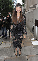 Zara Martin attends the Julian Macdonald show during London Fashion Week SS14 at Goldsmiths' Hall in London, UK. 14/09/2014<br />BYLINE MUST READ : GOTCHAIMAGES.COM<br /><br />Copyright by © Gotcha Images Ltd. All rights reserved.<br />Usage of this image is conditional upon the acceptance <br />of Gotcha Images Ltd, terms and conditions available at<br />www.gotchaimages.com