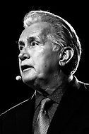 Martin Sheen talks at a open forum during ICAN´s international conference in Oslo. ICAN (international campaign to abolish nuclear weapons) is a global civil society coalition working to mobilize people in all countries to inspire, persuade and pressure their governments to initiate and support negotiations for a treaty banning nuclear weapons.