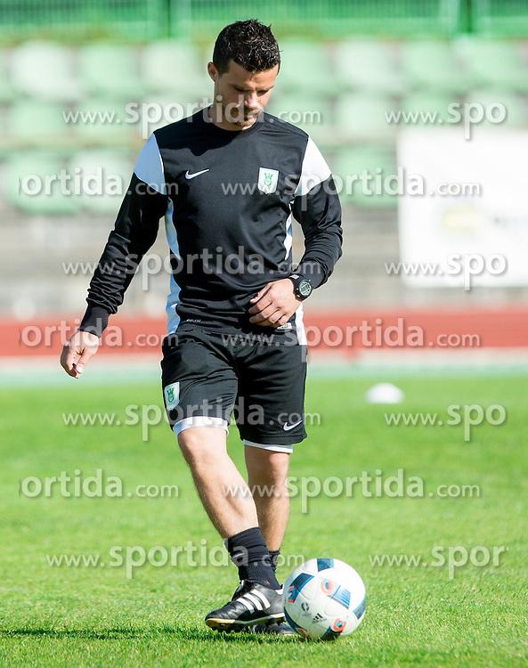 Dejan Kopasic, coach during practice session of NK Olimpija, on April 21, 2016 in Sports park Ljubljana, ZAK, Ljubljana, Slovenia. Photo by Vid Ponikvar / Sportida