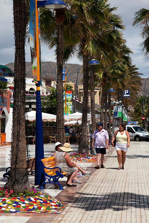Playa de las Américas, South Tenerife.