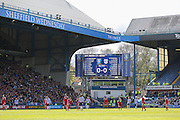 0-0 Sheffield Wednesday await the ball in play during the Sky Bet Championship match between Sheffield Wednesday and Cardiff City at Hillsborough, Sheffield, England on 30 April 2016. Photo by Phil Duncan.