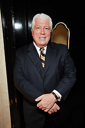 DENNIS BASSO at a dinner in honour of Dennis Basso in celebration of his new boutique in Harrods held at Claridge's, Brook Street, London on 15th October 2009.